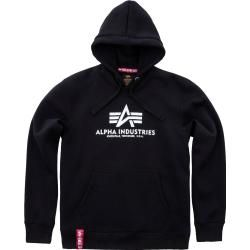 Alpha Industries Basic Hoodie Grau Xs Alpha Industries Inc. #fashionbasics