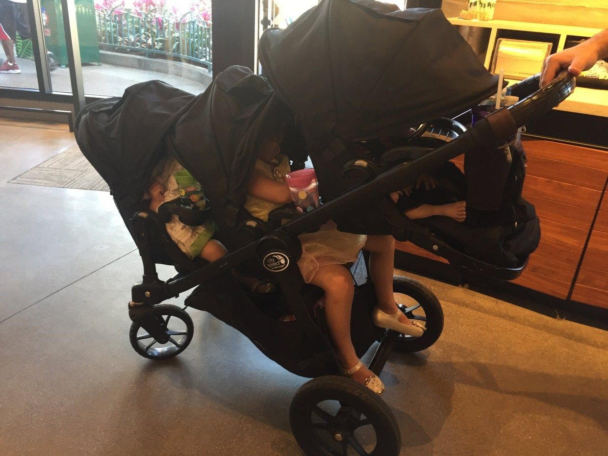 The Baby Jogger City Select Triple Stroller Hack A Home With Walls Stroller Hacks Baby Jogger City Select Triple Stroller