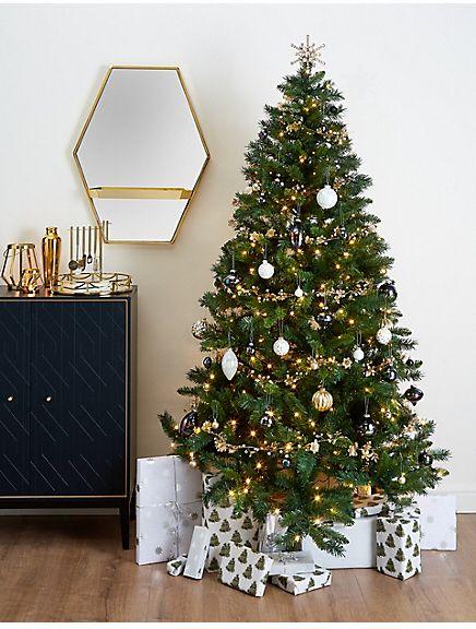 christmas tree marks and spencer 7ft pre lit christmas tree
