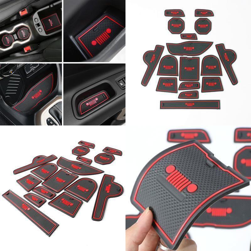 Floor Mat Door Mats Accessories Rubber Protector For Jeep