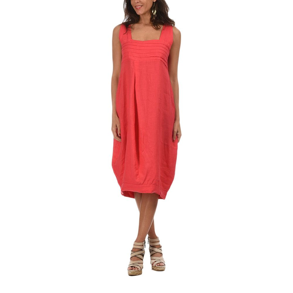 Willow Dress | Coral by Lila Rose & Lin Blanc on Brands Exclusive
