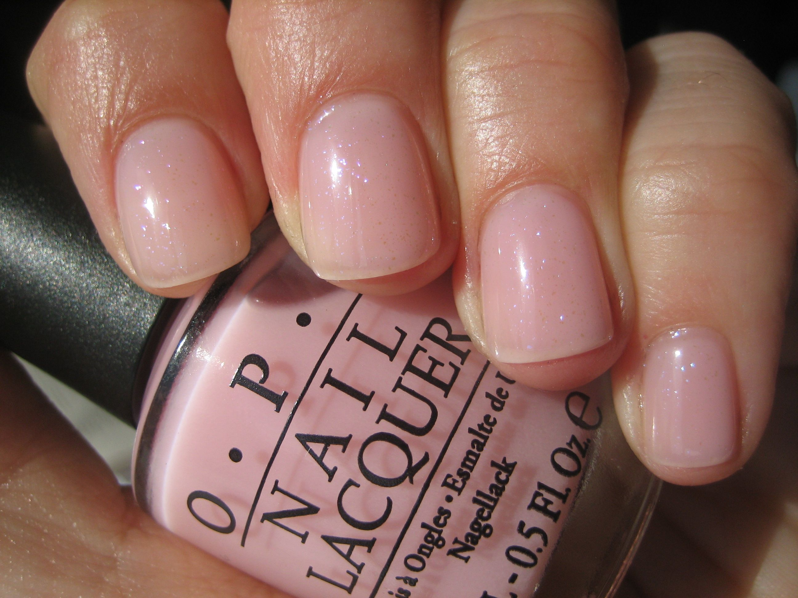Opi Makes Men Blush A Nice Pale Pink A Great Nude