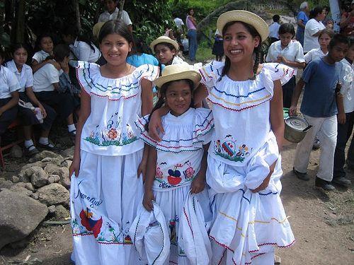 Nicaragua traditional clothing