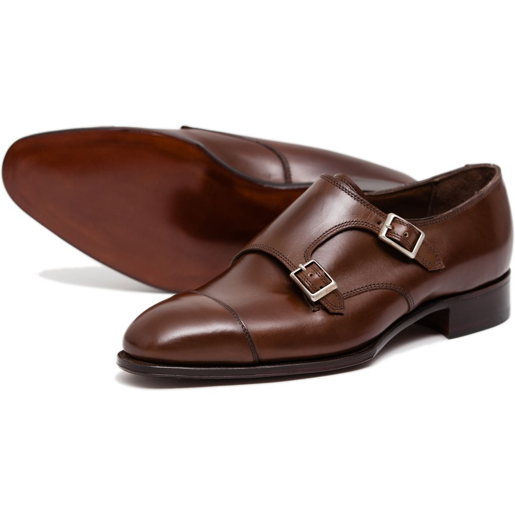 Men's Alfred Tan Double Monk