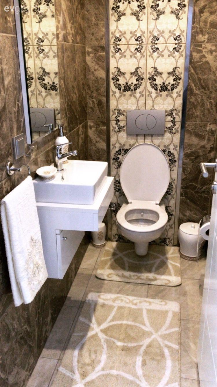 Bu evde klasik ve modern stiller bir arada. | Ev Gezmesi Banyo