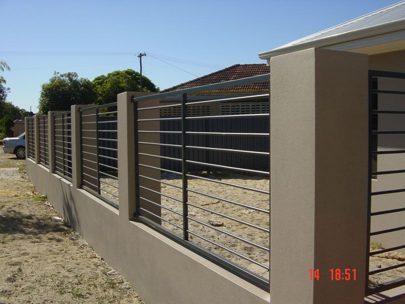 Perth Light Metal Fabrication Products Fences Gates A Frames Sign Frames Etc Modern Fence Modern Fence Design Fence Gate Design