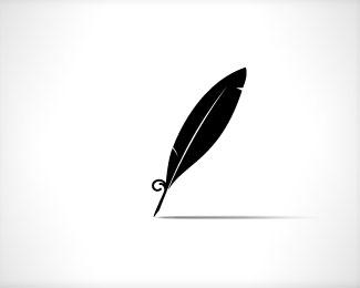 Logo Design Feathers Ink Logo Logo Design Feather Logo