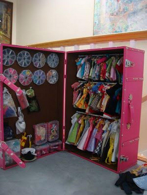 How to Make a Doll Closet Doll closet, Doll storage