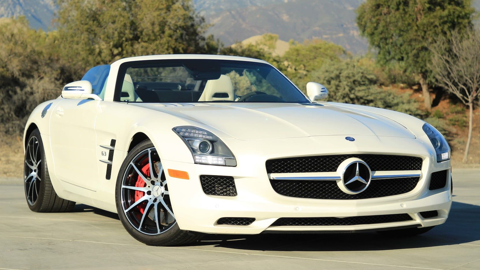 2012 Mercedes-Benz SLS AMG Roadster presented as Lot S2.1 ...