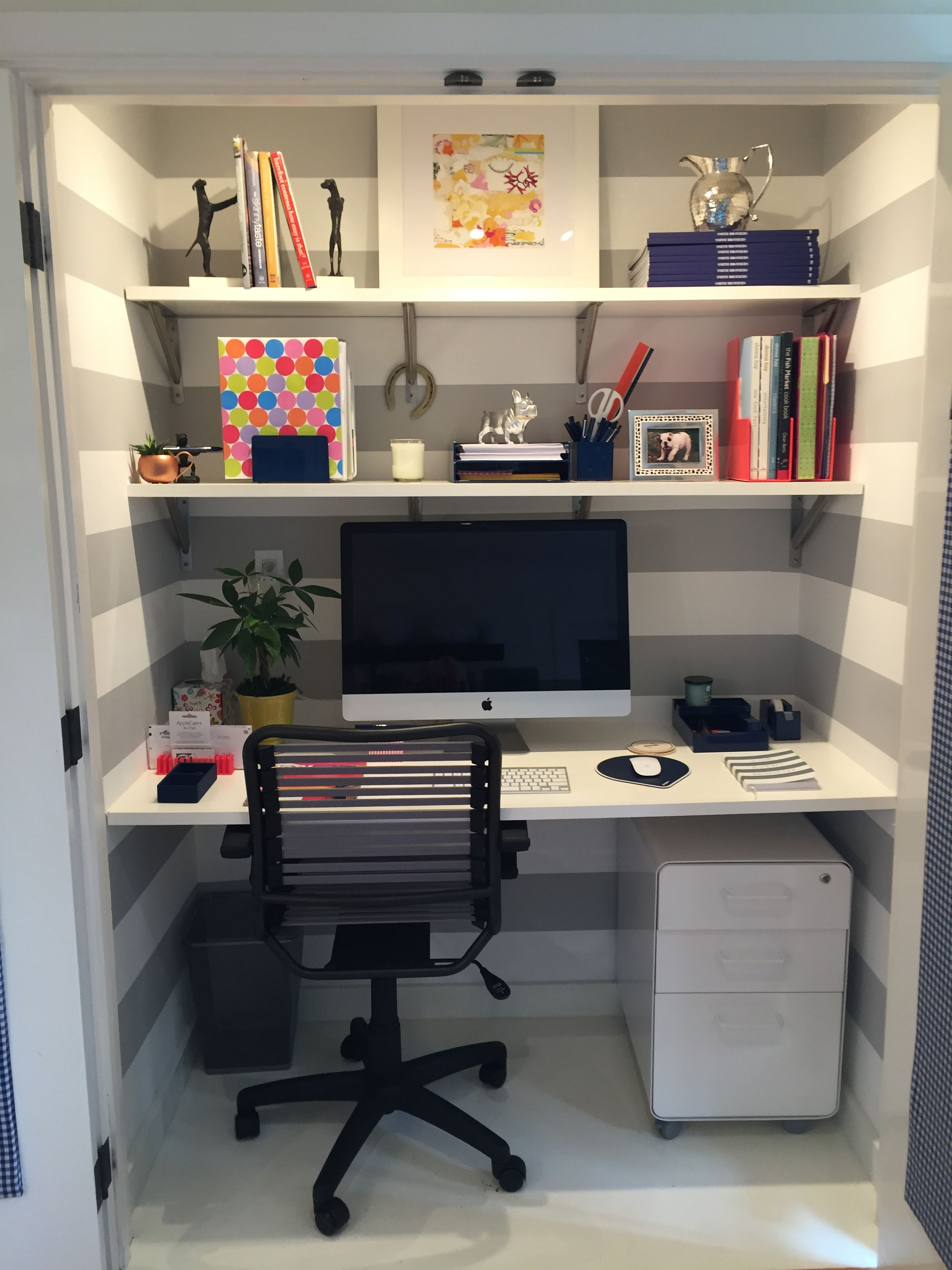 Pin by Tracy Clarke on Closet Offices Home office closet