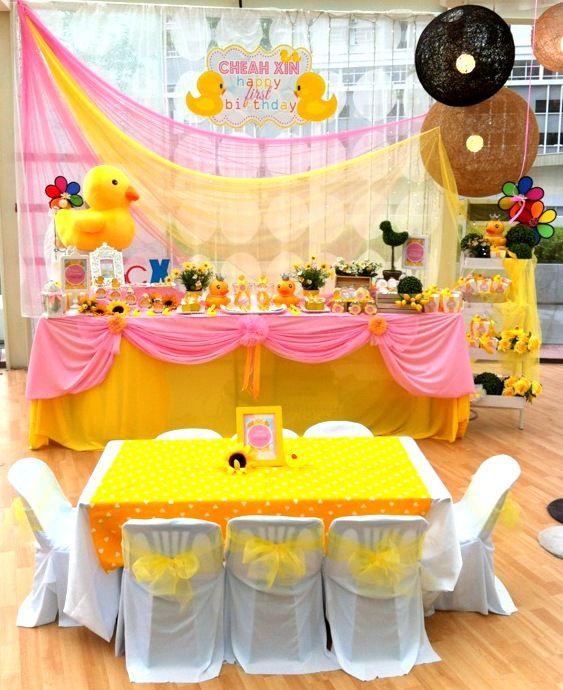 Birthday Decoration Yellow