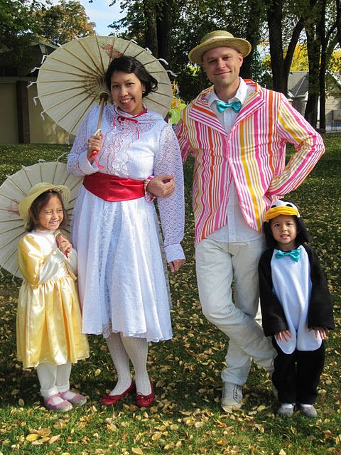 next year @Jason Guge Party Time Pinterest Mary poppins and - family halloween costume ideas with baby