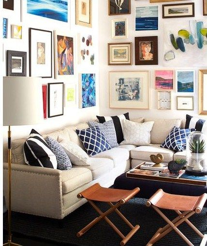 Corner Coastal Sectional Sofa For Small Spaces  House  Pinterest Custom Design Ideas For Small Spaces Living Rooms Inspiration Design