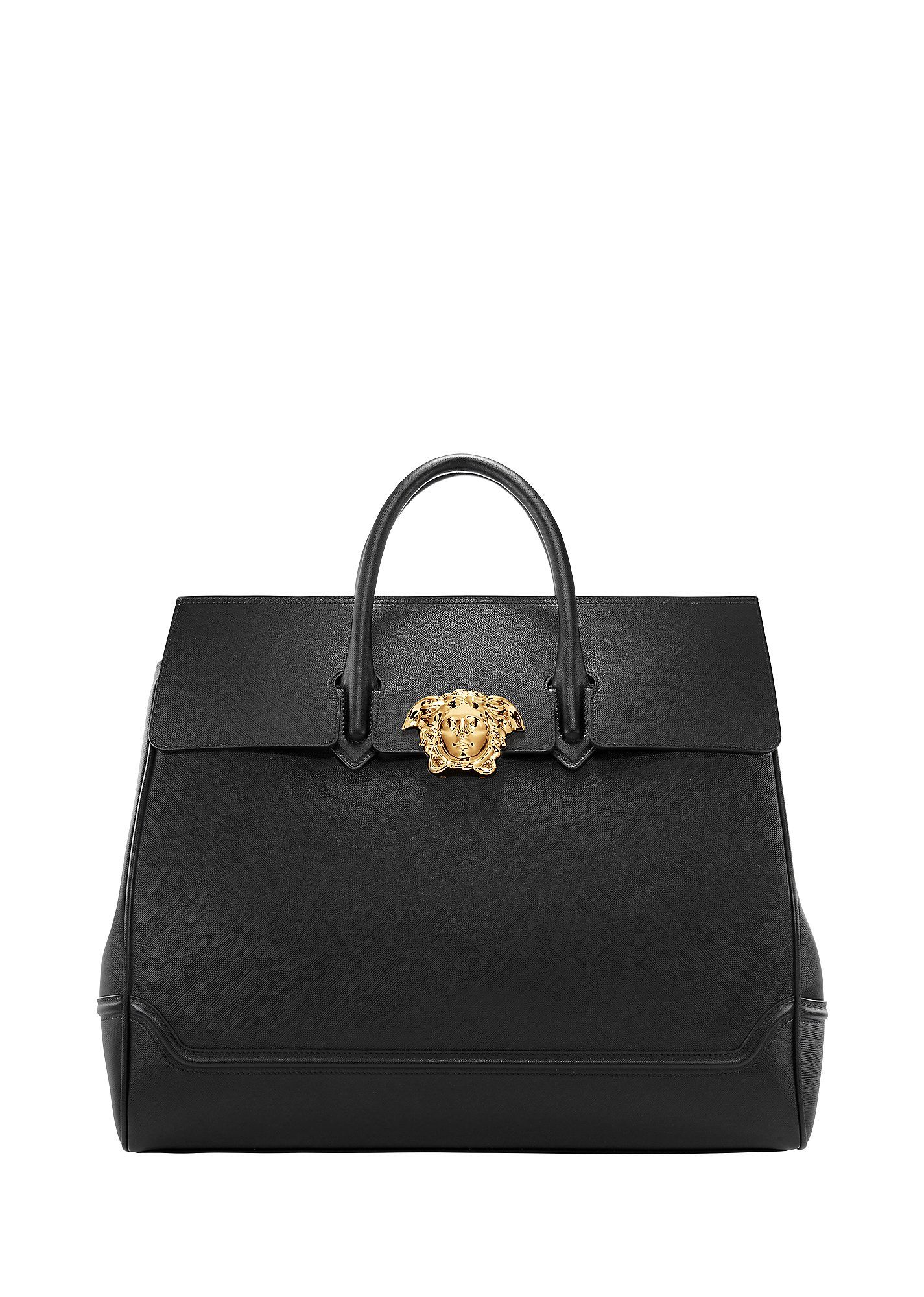 VERSACE Palazzo Leather Tote Bag.  versace  bags  leather  hand bags  linen   tote  lining   1fc54e8c32e3b
