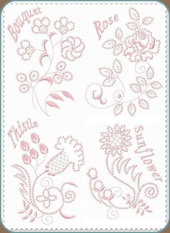 Candlewick Set 4 | bordado | Pinterest | Todo manualidades y Bordado