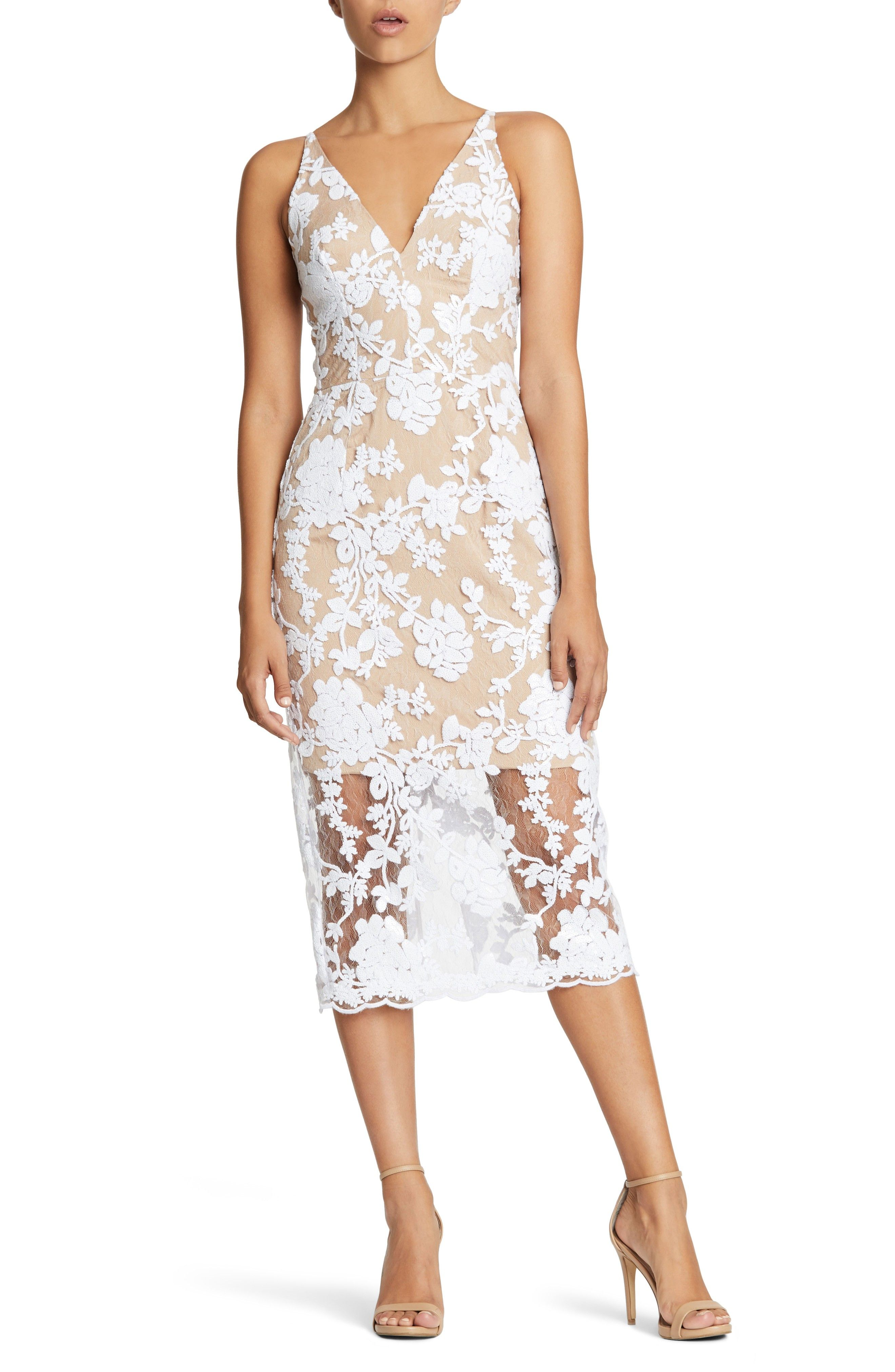 11 Best White Lace Dresses from Nordstrom   White lace dresses ...