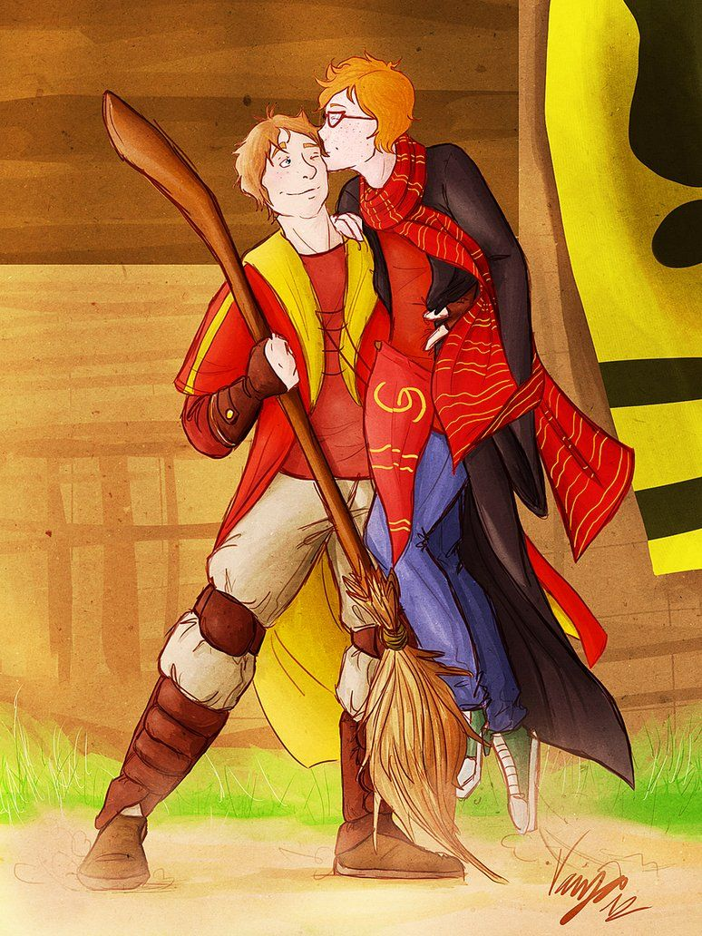 Oliver And Percy By Skauing On Deviantart Harry Potter Fantastic Beasts Percy Weasley Harry Potter Fandom