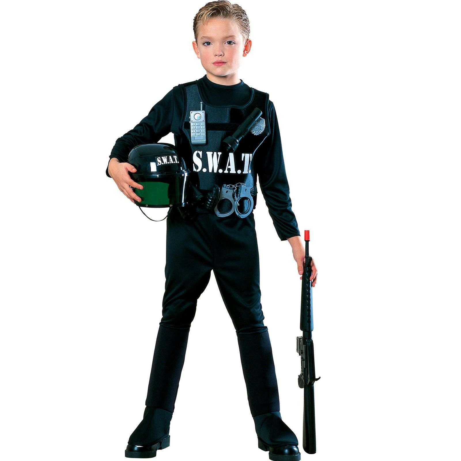 S.W.A.T. Team Child Costume | Children costumes, Costumes and Child