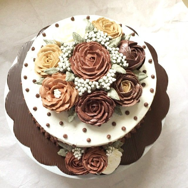 for me celebrating birthday with cakes means sharing happiness with my favourite people ❤️ #cakelover #birthdaycake #rose #flowercake #chocolatecake #buttercreamcake #food52 #feedfeed #nutella