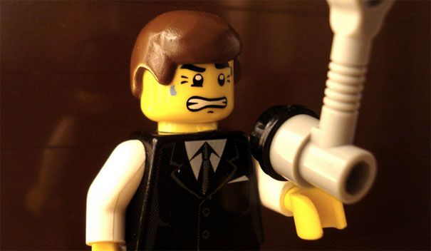 Famous Movie Scenes Recreated In Lego Lego And Famous Movies - 15 awesome movie scenes recreated with lego