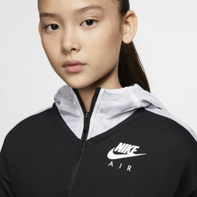 Sweat à capuche et zip Nike Air pour Fille plus âgée. Nike