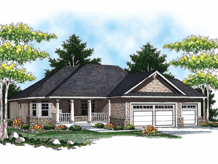 Ranch Home Plans - Ranch Style Home Designs from HomePlans