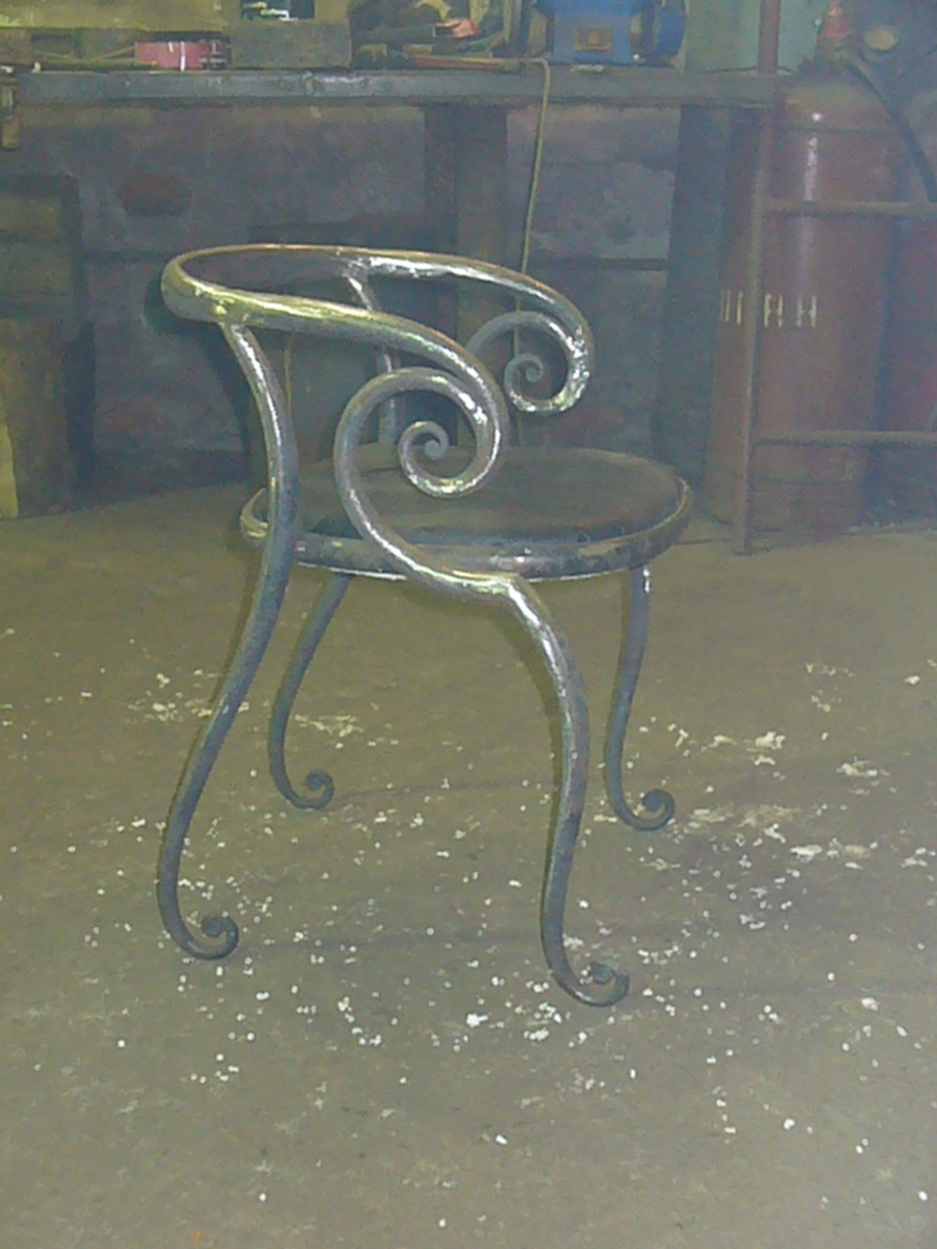 Pin By Bless It Be 13 On Home Interior Pinterest Blacksmithing  # Salon De Jardin Spartan