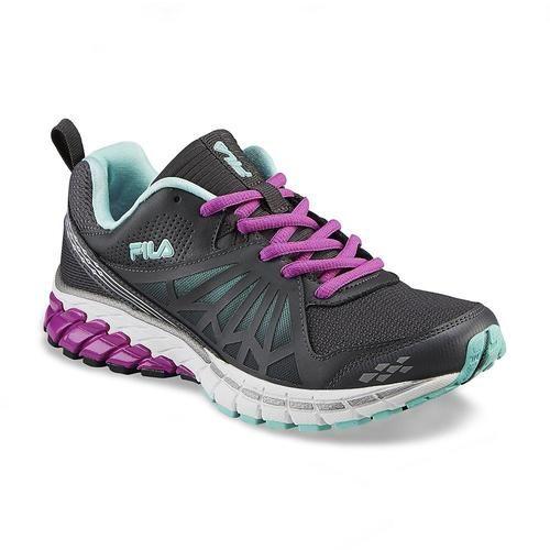 Fila Women\'s Steelstrike Energized Gray/Purple Running Shoe. Starting at $1