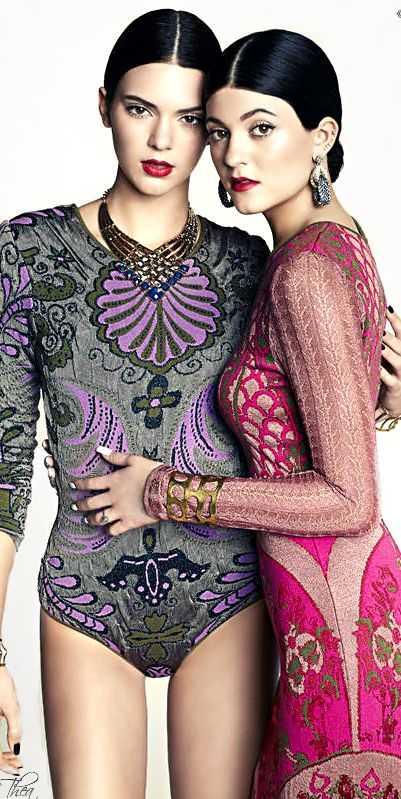 Marie Claire MexicoLatam March 2014 ● Kendall & Kylie Jenner by Vladimir Marti
