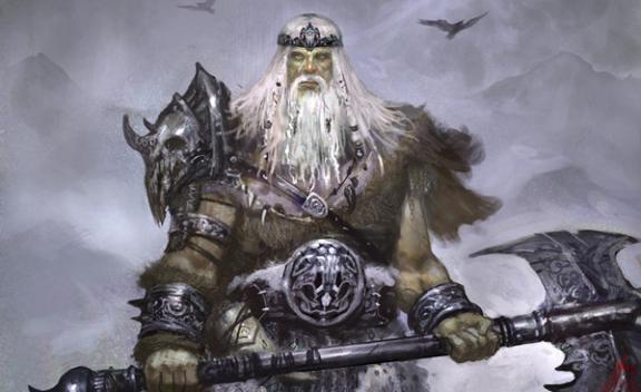 Bolthorn Norse Mythology Odin God Old Norse