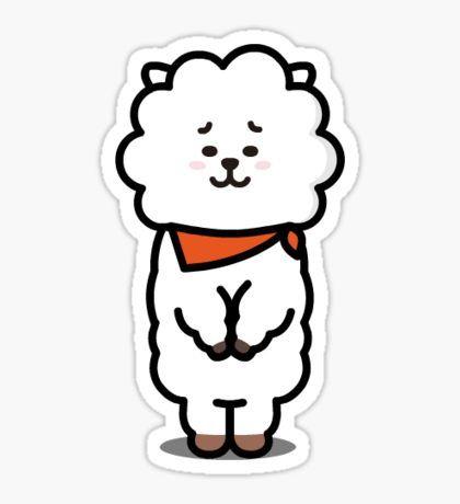 Bt21 Pegatinas Stickers Kpop Pegatinas Jin Und Bts
