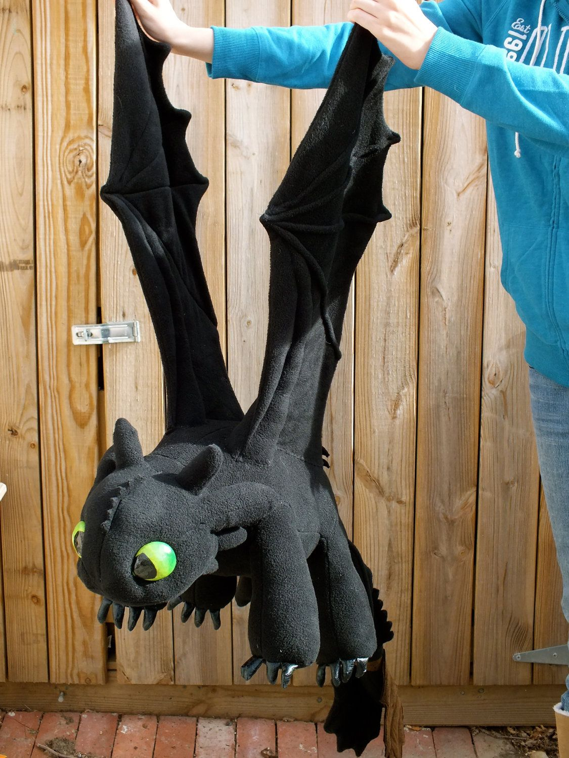 a6f8603655c RESERVED for Lisa Ciuffo - Toothless Plush Dragon with Fish