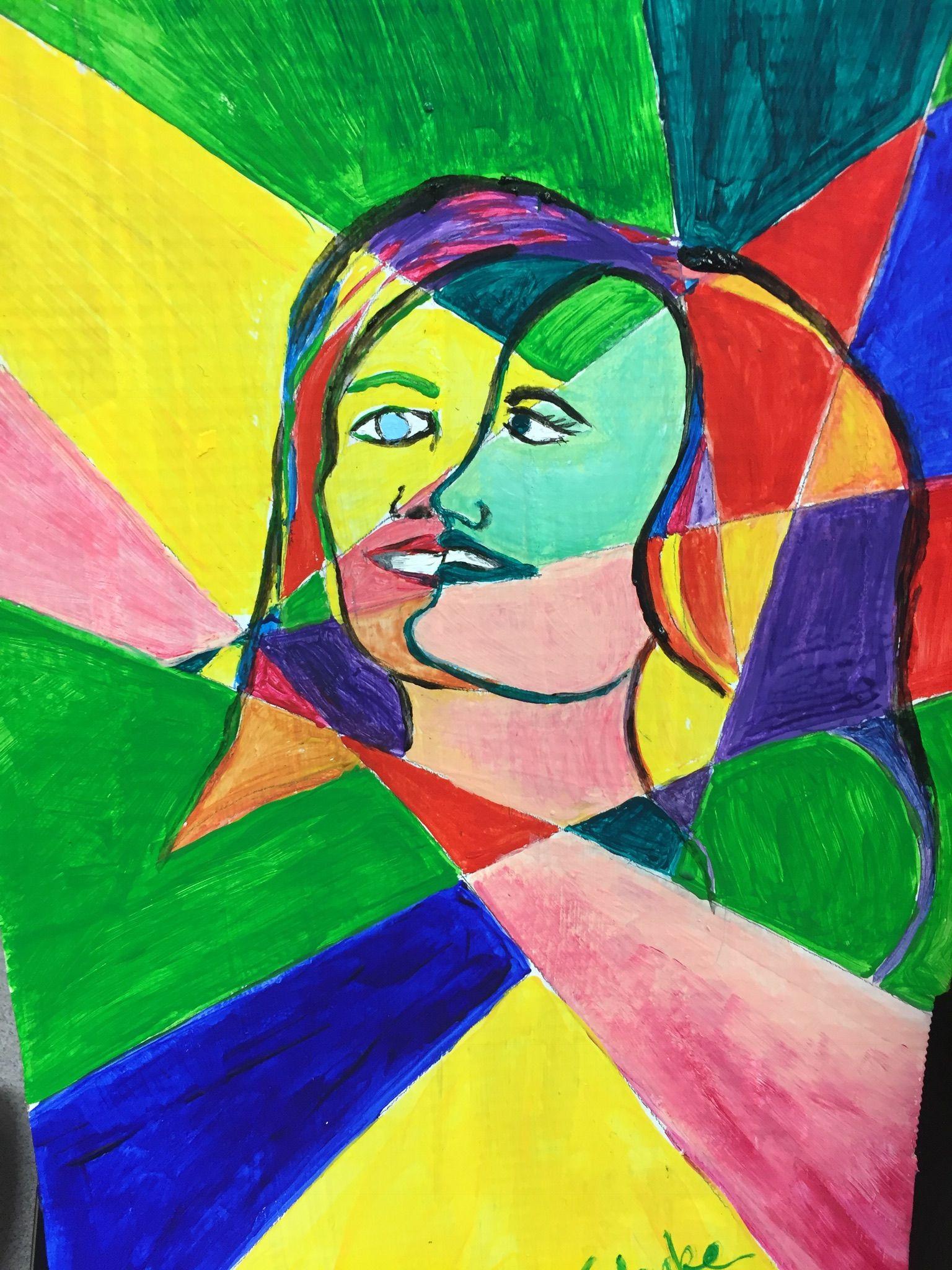 Self Portrait Cubism