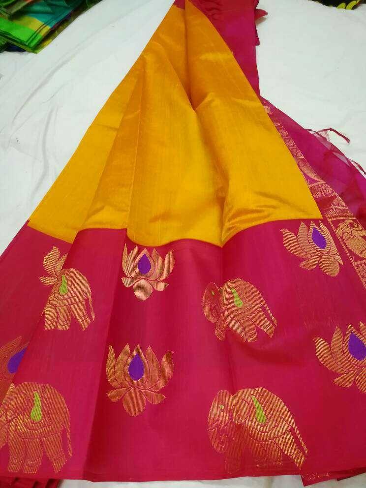 0f7505680b Kuppadam big border sarees | Kuppadam sarees | Saree, Silk sarees, Silk