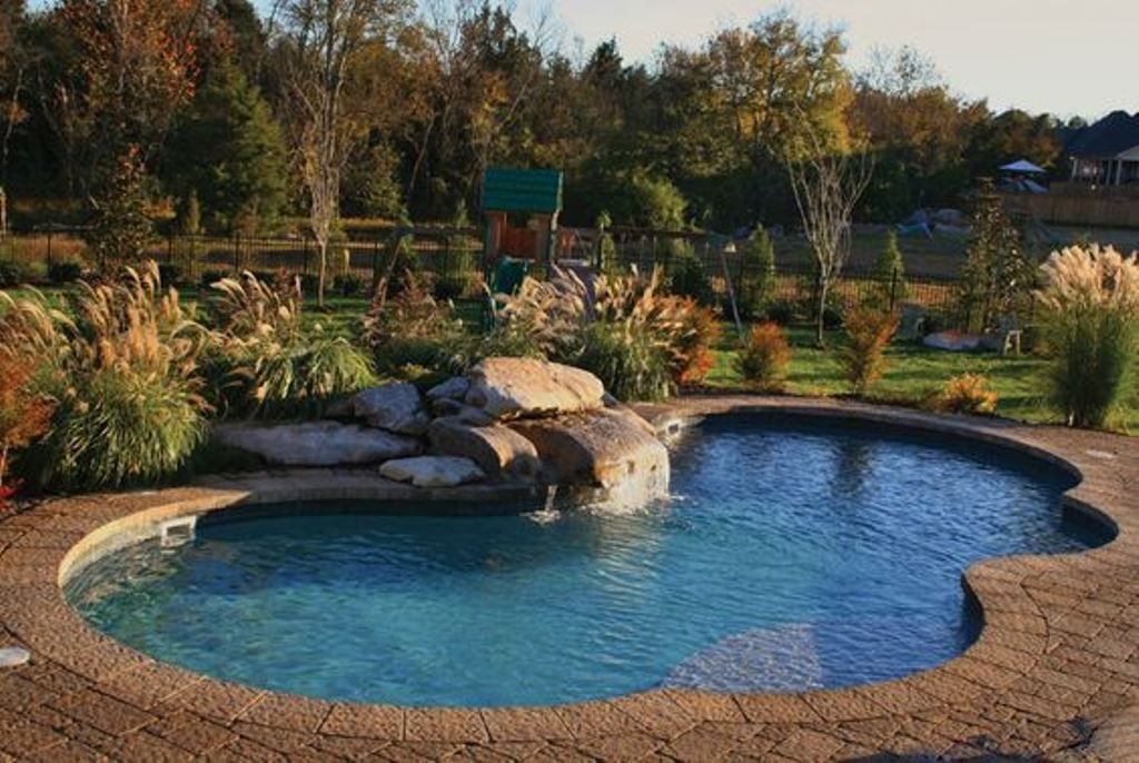 Backyard Above Ground Pool Landscaping Ideas pools with decks or inground pools leafless trees above grond pools when homes could talk pinterest decks backyards and gr Landscaping Around Pool Landscaping Around Poollandscaping Ideasabove Ground