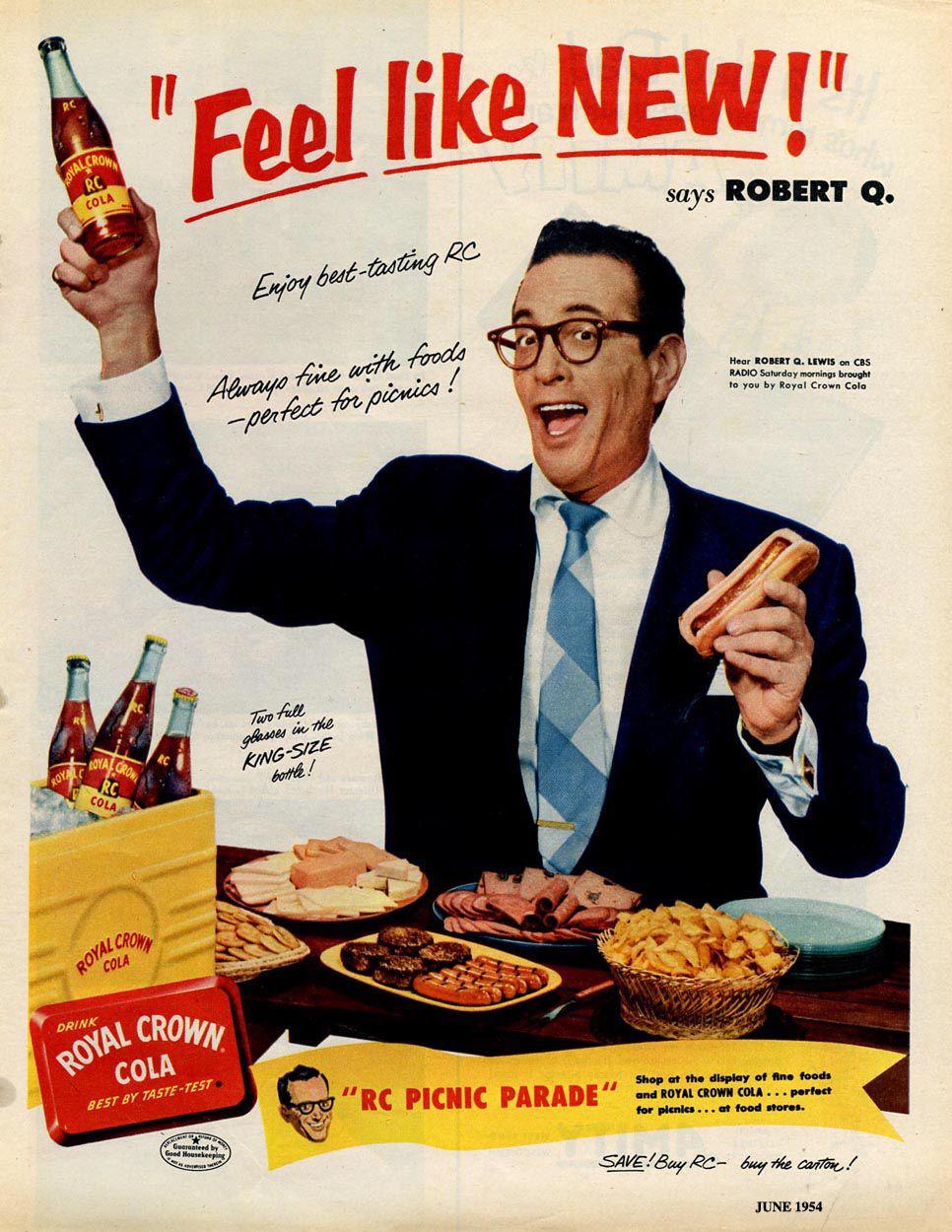 Robert Q. Lewis | Royal Crown Cola | 1954