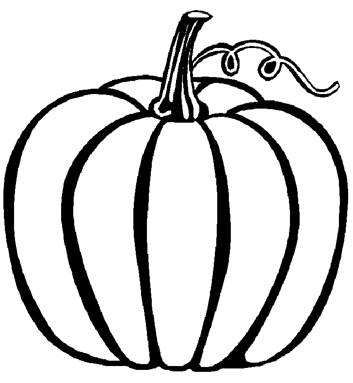 Pumpkin Coloring Pages 749