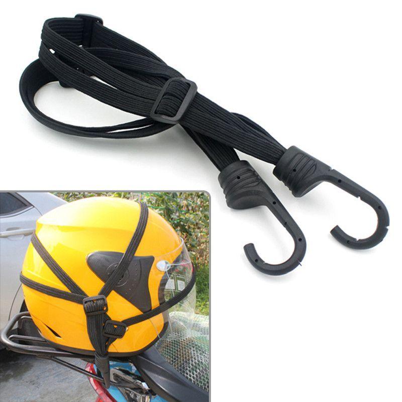 Motorcycle Luggage Net Helmet Strap Rope Bungee Cord Bandage String Tape Adjule Motorbike Elastic