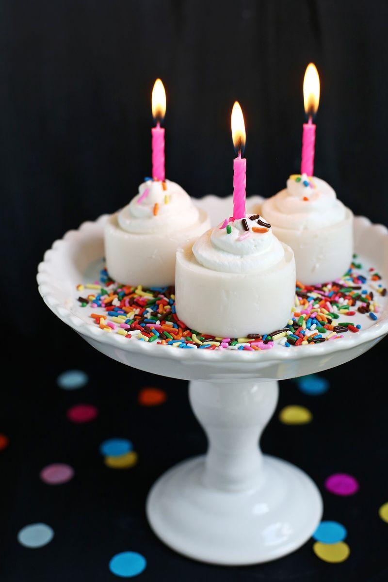 Birthday Cake Jello Shot A Beautiful Mess Jello Birthday