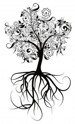 Baum-Muster für Tattoos                                                       …