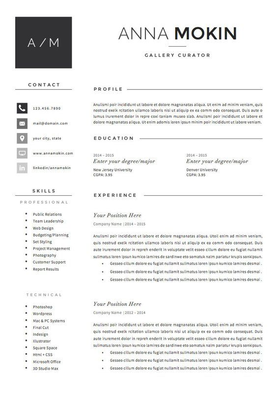 5 page resume    cv template   cover letter   references