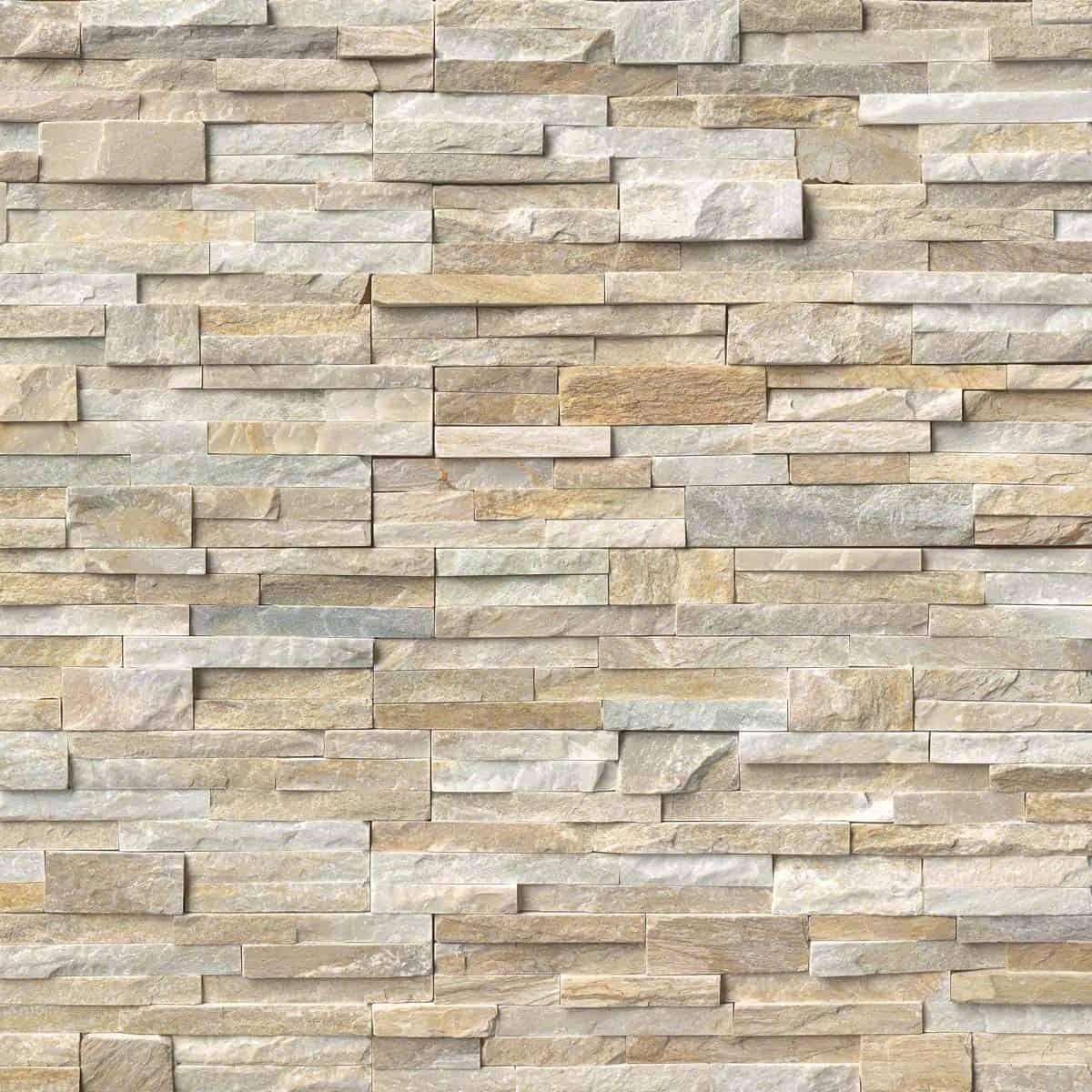Golden Honey Splitface Stoneyard Slate Wall Tiles Stacked Stone Panels Stone Panels