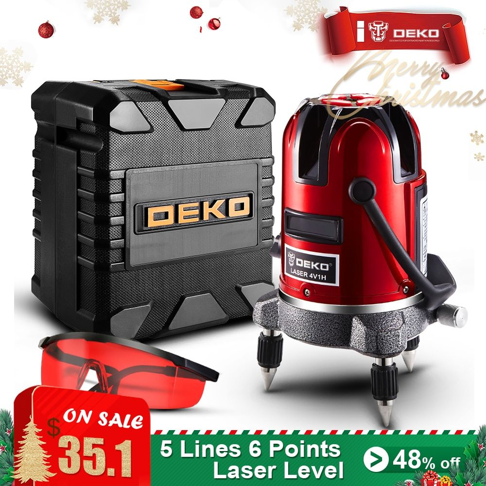 Universe Of Goods Buy Deko 5 Lines 6 Points Laser Level Automatic Self Leveling 360 Vertical Horizontal Tilt Outdoor Mode Can Use W Rec Deko Cool Things To Buy Oxford Bags