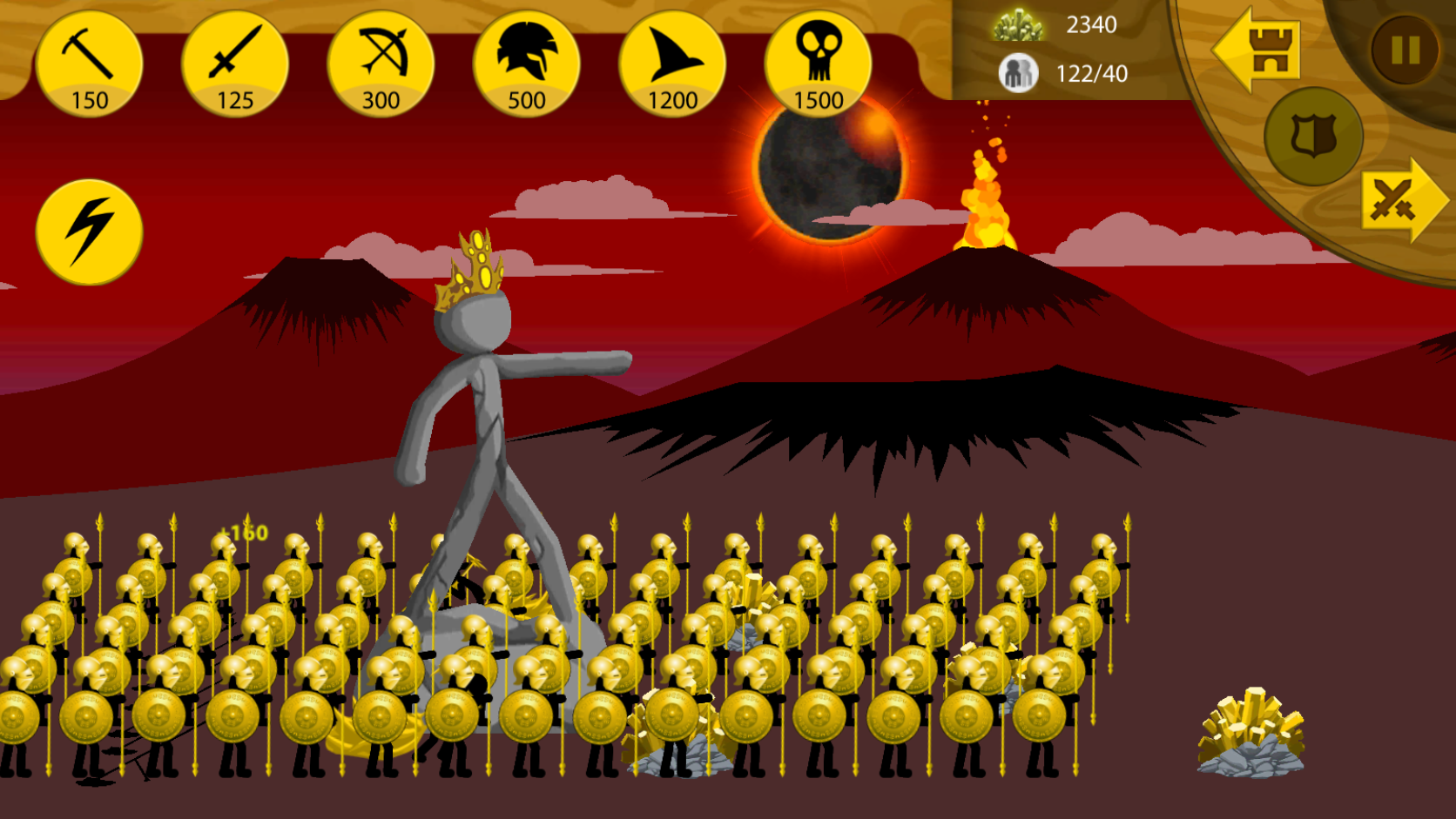 Stick War Legacy Golden Army Army of the gods Giải trí