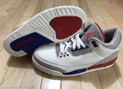 "Air Jordan 3 ""Charity Game"" Air jordans, Blue shoes, Nike"