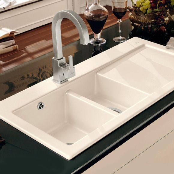 Villeroy \ Boch Subway 60 XR Die Keramikspüle mit Handbetätigung - spüle für küche