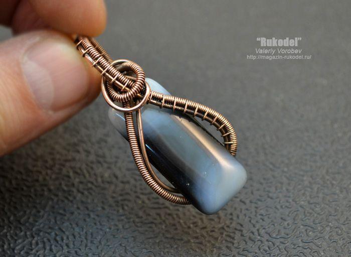 Pin von Jennifer Haselbach auf Wire Jewelry | Pinterest | Draht ...