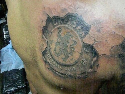 3d Stone Tattoo