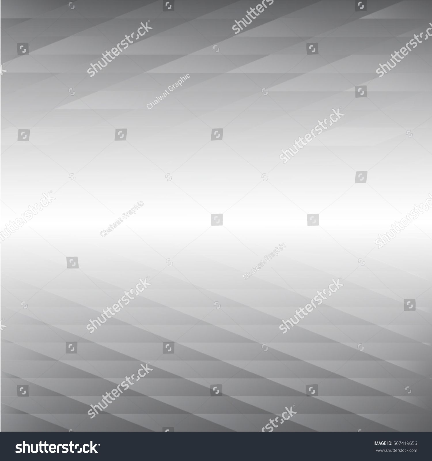 Perspective Gray Color Abstract Background Vector Illustration