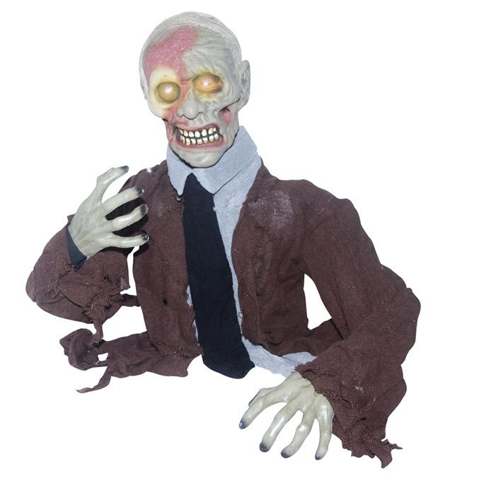 Groundbreaker Zombie Halloween props Pinterest Zombie decorations - zombie halloween decorations